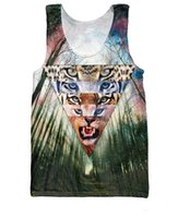 basketball jersey world - Women Men Fashion Tanks Wild Cats Tank Top Lynx Leopard Tiger five major big cats of the world d print Basketball Vest Jersey