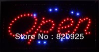 business open sign - 1 Set Superbright Shop quot open quot LED Display Flashing Sign For Business Shop Bar