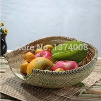 Wholesale High Quality New Set Pastoral Dustpan Dustpan Features Crafts Bamboo CraftsBamboo Baskets Bamboo Fruit Basket