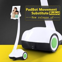 andriod robot - PadBot Home Service Movement Substitute Robot Remotely Control via Internet to Have a Video Chat with Lovers Support iPad iPhone Andriod