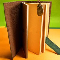 Wholesale String Hold Blank Journal Travel Diary Ruler Notebook Vintage PU Leather Cover PC