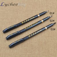 Wholesale Chic Chinese Black Brush Pen Calligraphy Pen Test Pen New