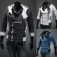 Wholesale New coats men outwear Mens Special Hoodie Jacket Coat men clothes cardigan style jacket