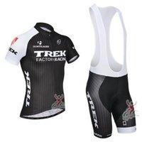 trek - New TREK Cycling Jersey and Cycling Bib none bib Shorts Kit TREK Cycling Clothing Set Black Size XS XL