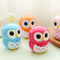 Wholesale 1 Colorful Owl Kitchen Timers Minutes Cooking Mechanical kitchen bite alarm timer clock Decoration cooking tools hot