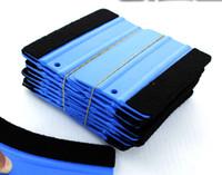Wholesale 3D Carbon Fiber Tool Squeegee Car Film Tools Soft material Car Vehicle Film Scraper