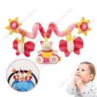 Wholesale Baby Cute Music Multifunction Toy Kid Crib Round the Bed Hanging Butterfly Toys Pink SV009425