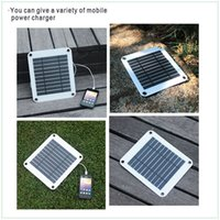 flexible solar panel - 5W mono USB charger port semi flexible solar panel with regulator built in for mobiles