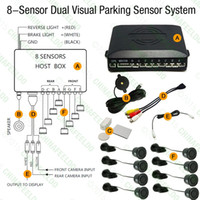 Wholesale Car Sensors Front Rearview Visual Video Parking Sensor Backup Radar System