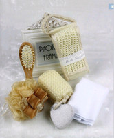 Wholesale Wedding gift Wedding decorations take a shower bath suite bath ball flower ball grinding stone feet