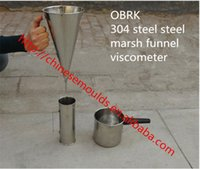 astm viscosity - ASTM Standard Stainless steel Marshall Cone For Viscosity
