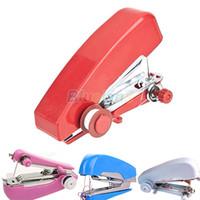 Wholesale Brand New Portable Cordless Mini Handy Hand Held Clothes Fabric Sartorius Sewing Machine CUB