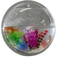 Wholesale Wall Hanging Mount Bubble Aquarium Bowl Fish Tank Aquarium Home Decoration Pot