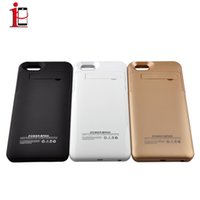 Wholesale 5000mAh External Backup Battery Charging Case Power Bank Case Rechargerbale Power Bank Backup For iPhone Plus