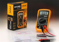 Wholesale BEST SALE HYELEC MS8233A Mini Professional Digital Multimeter Counts LCD Display Electrical Handheld Tester Multimetro H11403