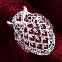 austria stamps - R541 NEW Silver stamp owl finger ring Women Engagement unisex austria crystal anneau anel anneau anillo