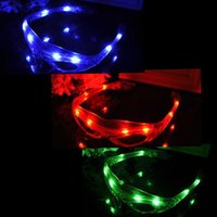 Wholesale LED Spiderman Glasses Flashing Glasses Light Party Glow Mask Christmas Halloween Days Gift Novelty LED Glasses Led Rave Toy Party Glasse