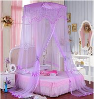 Wholesale Luxury ground hanging princess bed nets Students dormitory your mosquito net