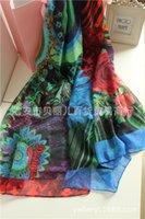 Wholesale spain brand desigual scarf print logo Newest women s scarves wraps famous brands Desigual scarf fashion shawls scarf CM