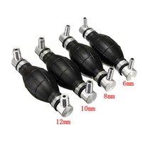 Wholesale 1x mm Fuel Primer Blub Hand Pump Petrol Diesel Inline Filter Black Rubber order lt no track