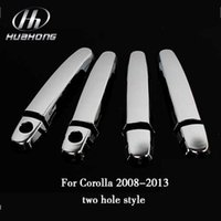 Wholesale Car door pull cover doorhandle sticker Exterior decoration ABS material suitable for Toyota Coroll