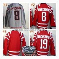 alexander gray - 2015 Alex Alexander Ovechkin Fashion Jersey Gray New Season Washington Blank Nicklas Backstrom Winter Classic Hockey Jersey