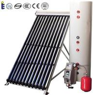 150Liters separaron a presión calentador de agua caliente solar, tubo tubo colector solar sistema de calefacción solar de agua de calor productos solares calentadores domésticos