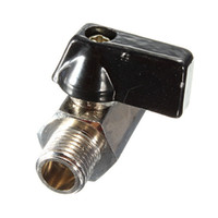 Wholesale New ways Mini Valve Brass Ball Valve Chrome Controller Size cmx2cm Rlectroplating Processing More Corrosion Wide Applicabil order lt no t