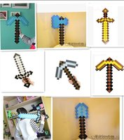 toys - best price Minecraft Sword Pickaxe Foam Combo Minecraft Foam Sword Pickaxe Toy For Baby Children