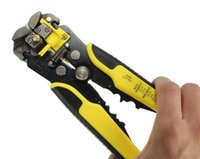 wire terminals - Multifunctional Automatic Wire Stripper Crimping Pliers Terminal Tool Yellow