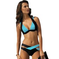 best suit colors - New Summer Sexy Patchwork Bikini Woman Swimsuit Bandage Swimwear Best Soft Swimsuits Bathing Suit colors in stock