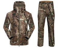 ap clothing - New Arrival Hot Sale Suit Waterproof Realtree AP Camouflage Hunting Clothing Camo Suit Camo Jacket Hunting Pants Trousers
