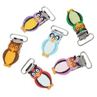 babies definition - 10PCs Pacifier Holders For Baby Owl Shape Wooden Mixed Color B44960 clasp toggle clasp definition