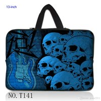 air guitar pro - Blue Guitar Skull quot Neoprene Laptop Sleeve Bag Case Cover For quot Macbook Pro Air HP Dell Sony