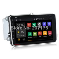 Wholesale Android HD Capacitive Screen Car dvd player gps for VW Passat Jetta Polo Golf Bora Dual Core A9 G CPU WiFi