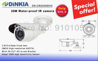 Wholesale Promotion CCTV CMOS Camera TVL M IR IR CUT High Resolution Water proof Camera Lowest DS CR202SDH3