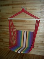 Cheap DHL Free Shipping NEW Deluxe Outdoor Colorful garden Canvas Hanging Chair Hammock Sky Swing Chair For Single