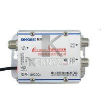 Wholesale 220V Output SB D2 CATV Amplifier db Cable TV Signal Amplifier Splitter MHz