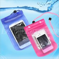 Wholesale For Moible Phone Universal Clear Waterproof Pouch Case Bag Underwater Dry Case Cover For iPhone Plus Samsung S6 inch