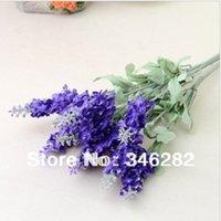artifial flowers - lavender flower simulation table silk artifial flower decoration laid floral