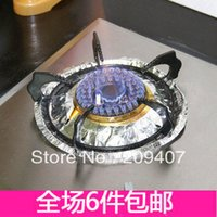 aluminum foil pans - Gas cooktop aluminum foil paper high temperature resistant oil pan pad cleaning pad