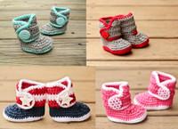 Cheap Unisex Crochet children shoes Best Spring / Autumn Cotton first walker shoes