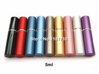 Wholesale 500pcs High Quality ml Metal Perfume Bottle Parfum Atomizer Refillable Empty Fragrance Bottle Aluminum Spray Bottle