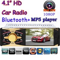 Wholesale Handsfree bluetooth Single din V Rear View AV IN HD Car FM Radio MP5 Player V Charger MP3 MP4 Audio Video USB SD AUX Car Electronics