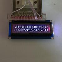 Wholesale Mode RGB Backlight FSTN Negative Mode RGB on Black X2 Character LCD Module Display Screen LCM