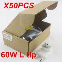 "Cheap Wholesale 50pcs Free DHL 16.5V 3.65A 60W L tip Mag1 laptop adapter charger for apple Macbook Mac pro13"" A1184 US EU AU UK Plug"