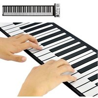 Wholesale Flexible Roll Up Synthesizer Keyboard Piano with Soft Keys