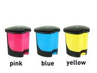 Wholesale 2015 new fashion pedal bin Paper basket