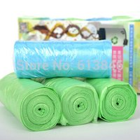 Wholesale 12rolls Quality multi color rubbish trash garbage bags thick eco friendly thickening
