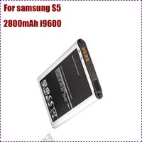 Wholesale I9600 Galaxy S5 battery For Samsung S5 battery I9600 EB BG900BBC batteries Factory price Good quality